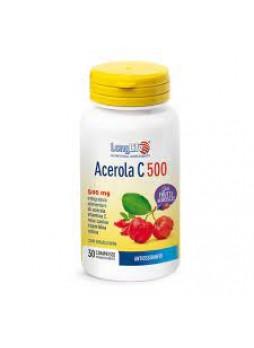 LongLife Acerola C 500 gusto frutti di bosco compresse