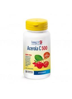 LongLife Acerola C 500 gusto arancio compresse