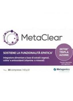 Metagenics Metaclear 30 compresse