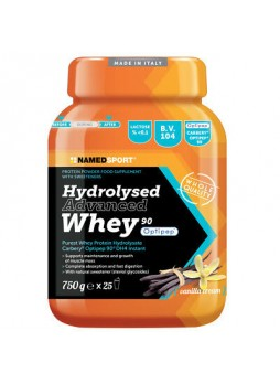 Namedsport Hydrolysed Advanced Whey Vanilla Cream 750gr