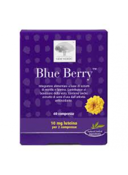 New Nordic Blue Berry 60 compresse