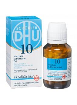 Loacker Remedia 10 Natrium Sulfuricum D6 compresse