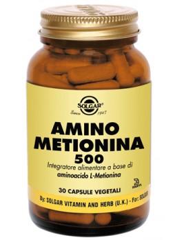 Solgar Amino Metionina 500 30 capsule vegetali