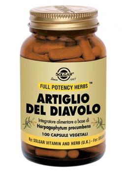 Solgar Artiglio del Diavolo 100 capsule vegetali