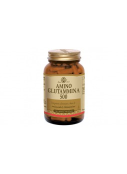 Solgar Amino Glutammina 500 50 capsule vegetali