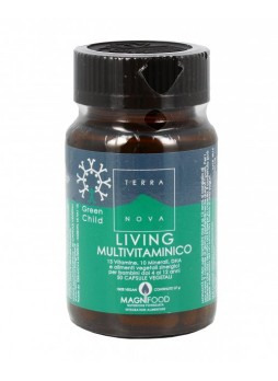 Terranova Green Child Living Multivitaminico 50 cps