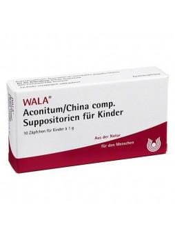 Wala Aconitum China Comp 10 supposte bambini