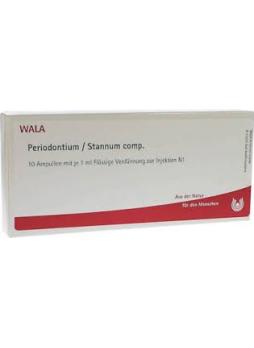 Wala Periodontium stannum comp 10 fiale da 1ml