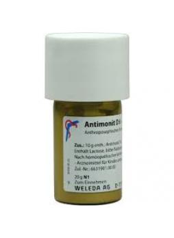 Weleda Antimonit D6 polvere 20g