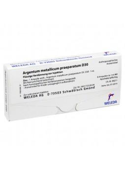 Weleda Argentum metallicum praeparatum D30 8 fiale da 1ml