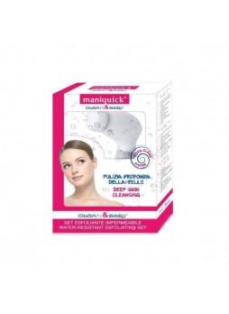 Maniquick Perfect spazzola elettrica + set esfoliante impermeabile pulizia  pelle
