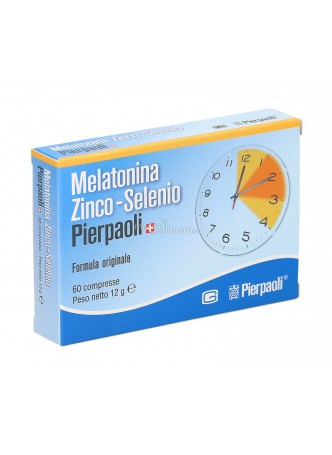 Dr. Pierpaoli Melatonina Zinco Selenio 60 cp