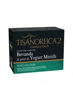 Tisanoreica Bevanda al gusto Yogurt Mirtilli 4 buste