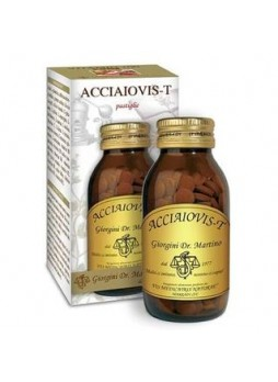 Dr. Giorgini Acciaiovis-T integratore 180 pastiglie 90gr.