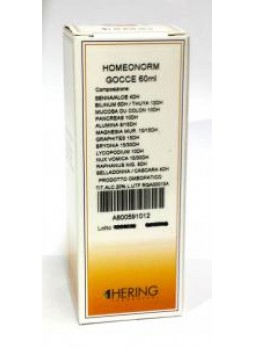 Hering  HOMEONORM gocce 30ml