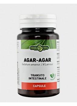 Agar Agar 500 mg 60 capsule vegetali Erba Vita