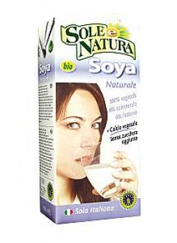 Latte Soja Natural Bio con Calcio 1 litro