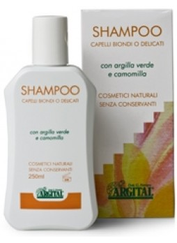 Argital Shampoo Capelli Biondi o Delicati alla Camomilla 250 ml