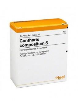 Heel Cantharis Compositum 10 Fiale da 2,2ml Guna