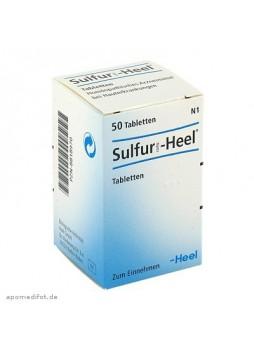 HEEL Sulfur® 50 Compresse Orosolubili