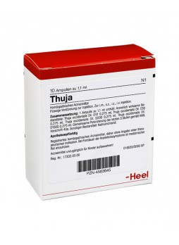 Heel Thuja Compositum 10 Fiale Da 2,2ml