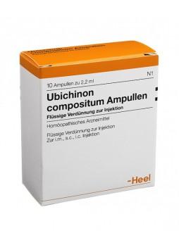 Heel Ubichinon Compositum 10 Fiale da 2,2ml Guna