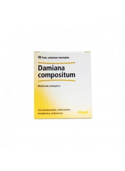 HEEL Damiana Compositum® 10 Fiale