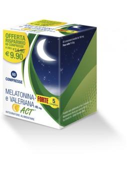 Melatonina Forte e Valeriana 60 cp