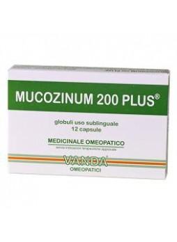 Vanda MUCOZINUM 200 plus 12 capsule