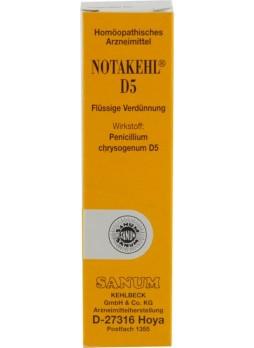 Sanum Notakehl D5 10 ml gocce