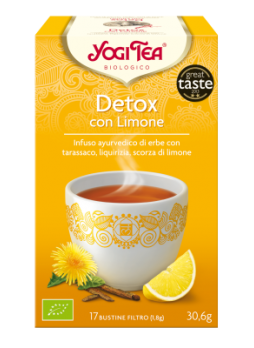Yogi Tea Detox Bio con Limone 17 bustine