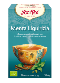 Yogi Tea Menta Liquirizia Bio 17 bustine