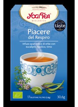 Yogi Tea Piacere del Respiro Bio 17 bustine